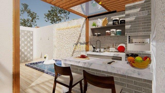duplex para venda tem 168 metros quadrados com 3 quartos em Jacunda - Aquiraz - CE - Foto 5