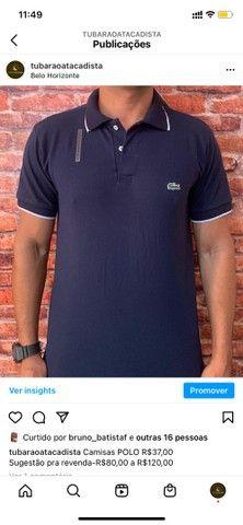 Camisas gola polo atacado - Foto 3