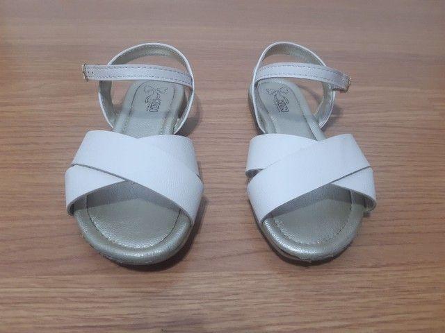 Sandália 28 Klin Off White