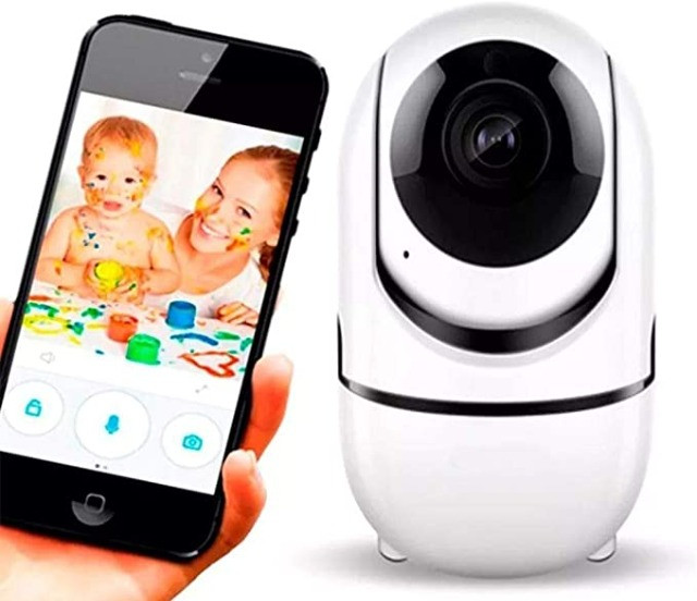 Câmera inteligente wifi ( novo na caixa) - Foto 6