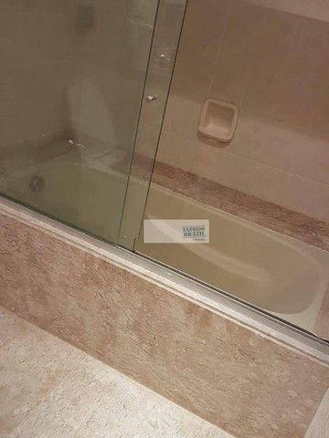 Apartamento com 4 dormitórios para alugar, 335 m² por R$ 14.000,00/mês - Chácara Flora - S - Foto 19