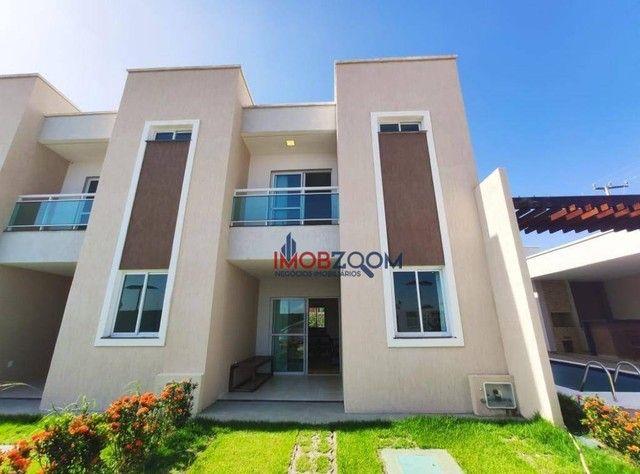 Casa com 3 dormitórios à venda, 97 m² por R$ 319.000,00 - Jacunda - Aquiraz/CE - Foto 3