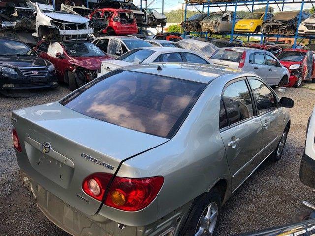 Toyota corolla 2007 1.8 vendido em peças