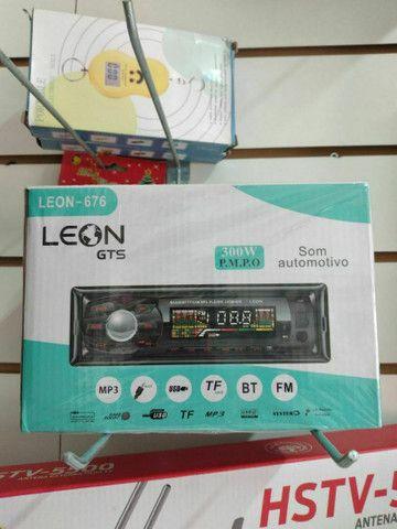 Som automotivo Leon