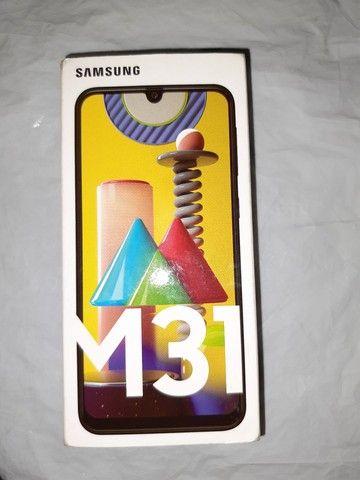 Samsung M31 LACRADO azul 6 Gg Ram, 128Gb,selfie 32M traseira 64+8+8+20 Octacore - Foto 5