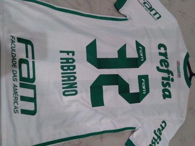 Camisa Palmeiras 2017 de jogo. - Foto 4