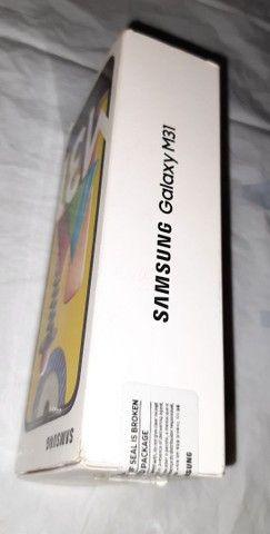 Samsung M31 LACRADO azul 6 Gg Ram, 128Gb,selfie 32M traseira 64+8+8+20 Octacore - Foto 4