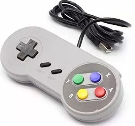 Controle Usb - Modelo Nintendo - Pc e Notebook _ G18 - - Foto 2