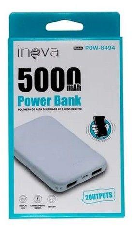 Power Bank Inova 5000mah Externo Portátil Universal Slim - Foto 4
