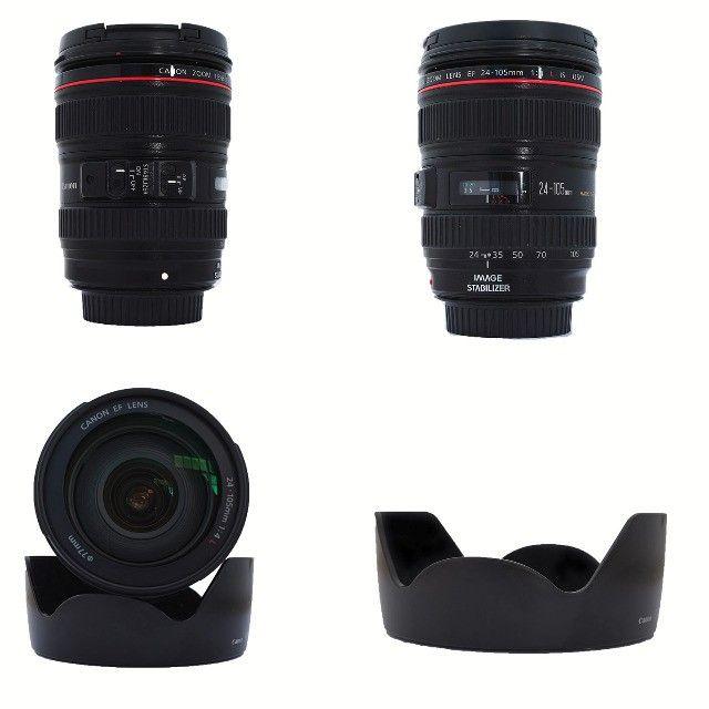 lente canon ef 24-105mm f/4L is usm - Foto 5