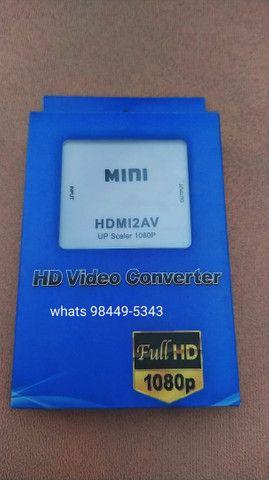 Conversor HDMI PARA AV(RCA)