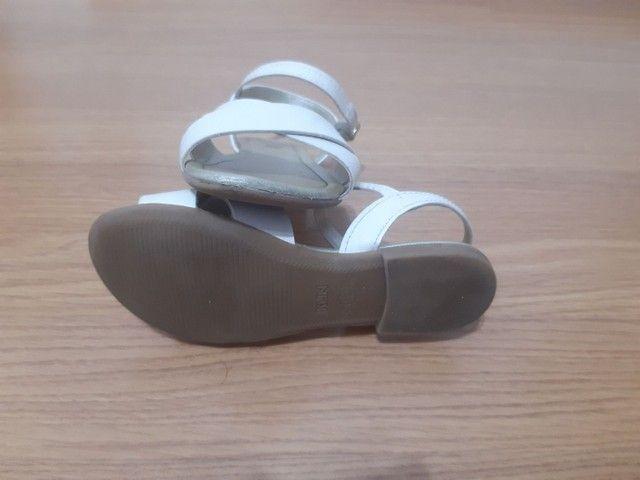 Sandália 28 Klin Off White - Foto 4