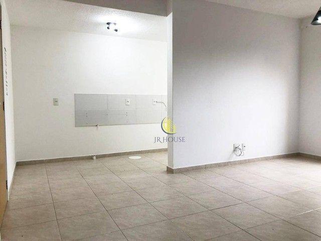 Apartamento com 2 dormitórios para alugar, 56 m² por R$ 800,00/mês - Santa Fé - Gravataí/R - Foto 8