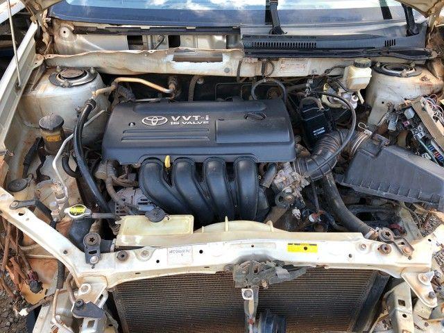 Toyota corolla 2007 1.8 vendido em peças  - Foto 4