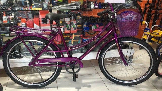 Bicicletas Aro 26 Retrô Somos Loja Mega Bike - Foto 4