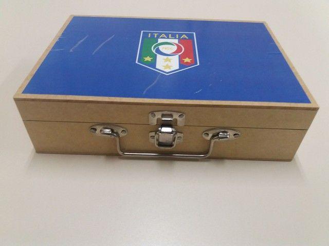 Time de botão da Itália -regra Brasileira um toque - Foto 2