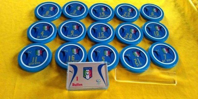 Time de botão da Itália -regra Brasileira um toque - Foto 5