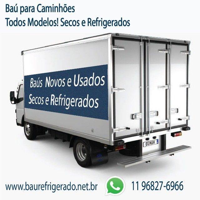 Baú Refrigerado e Baú Seco para Caminhão Modelo Anos 2012...  - Foto 2