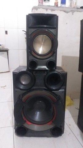 Caixa de som boca de 12 SELENIUM subwoofer e um médio  de 10 da sony - Foto 2