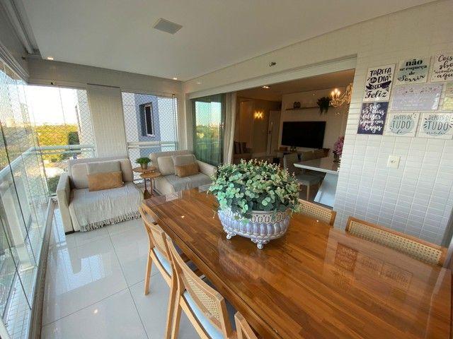 greenville etco 3 quartos Varanda Gourmet finamente decorado luxo Patamares - Foto 4