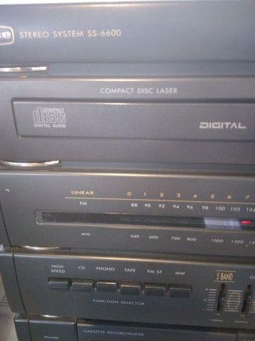 4x1 cce funciona tudo toca disco cd am fm k7 - Foto 2