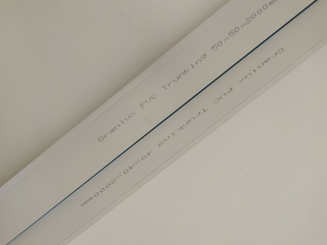 Canaletas Granlux PVC 2 metros cada 40x40 e 50x50 - Foto 5