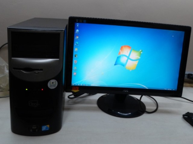 PC com monitor 4 nucleos 5 Gb Ram HD 1 TB Usb 3.0 e outras opções de compra