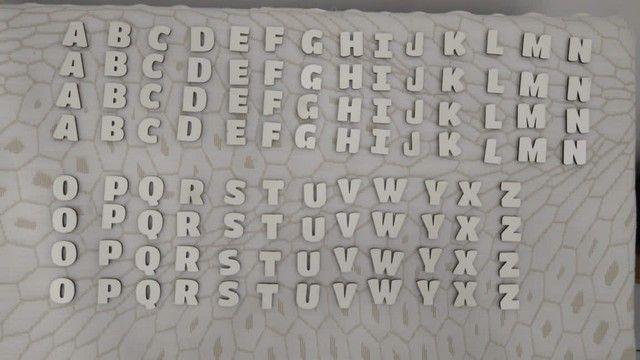 Alfabeto e numeral em mdf  - Foto 4