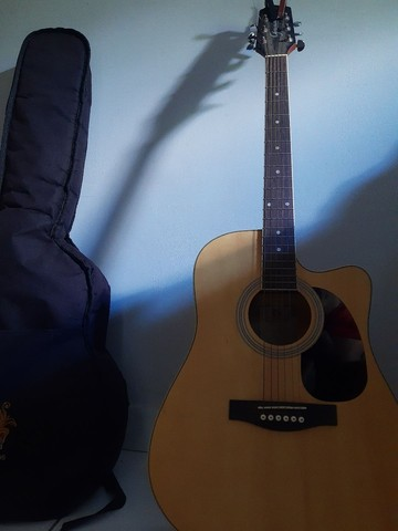 Vendo violão Giannnini - Foto 3
