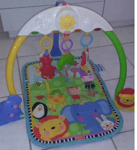Tapete Musical Zoo Fisher Price