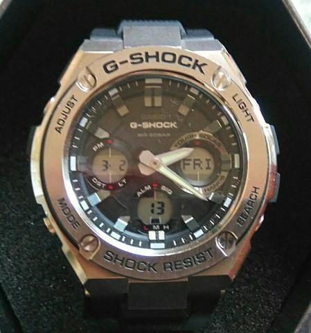 Caso G-shock solar