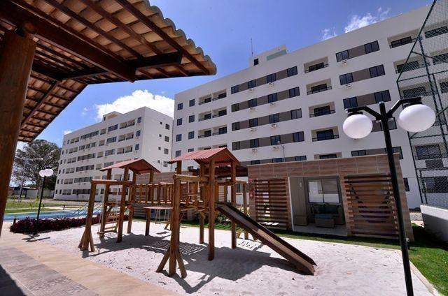 Apartamento com 2 Quartos em Parnamirim, Condomínio Resid. MoraBem, Documentação Grátis