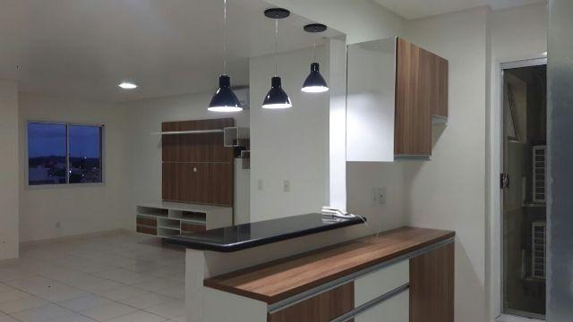 Apartamento de 2 Suítes Condomínio Life Ponta Negra Armários e climatizado