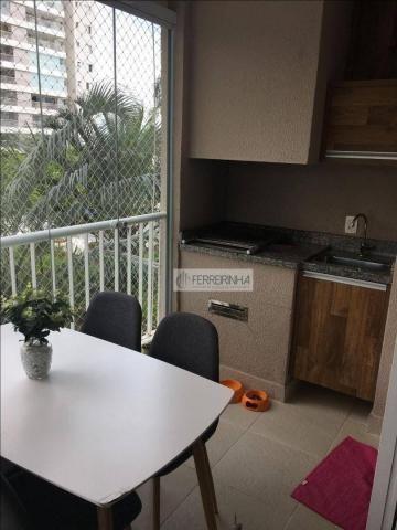 Apartamento à venda, 103 m² por r$ 590.000,00 - jardim das indústrias - são josé dos campo