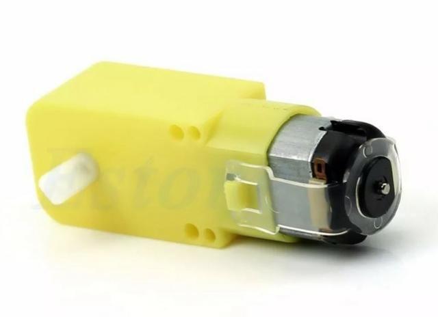 COD-AM151 Motor Dc 3 A 6v Com Redução P/ Robotica Arduino Chassi Carro Arduino Automaç