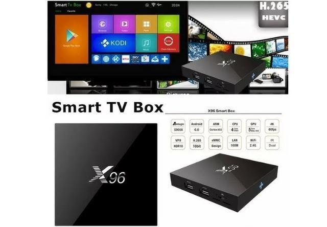 Tv Box X96 Mini 4k 4 Core 64bit 2/16gb Config Perfect Player