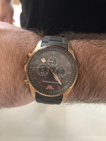 73ee06b57 Relógio Empório Armani Masculino - Bijouterias, relógios e ...