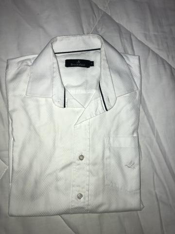0e16c309010 Camisa branca social Brooksfield tamanho 10 semi nova - Roupas e ...