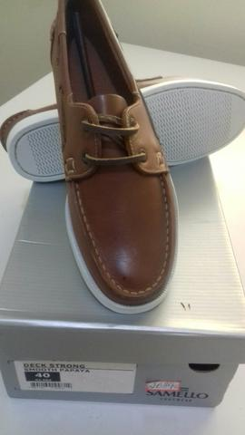 0c8dac4d013 Sapato Samello novo na caixa - Roupas e calçados - Centro