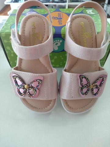 de0979ed2 Sandália borboletas. sandália infantil - Roupas e calçados - Jardim ...