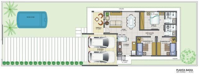 Casa TOP no Cidade das Rosas 1, lote de 300m2 e casa com 105m2, na entrada do loteamento - Foto 11