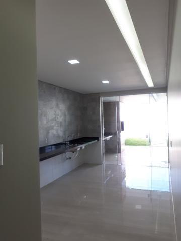 Casa moderna Vicente Pires pé direito duplo lazer completo - Foto 5