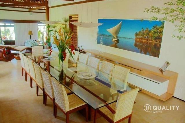 Casa na Lagoa do Uruaú com 6 suítes à venda, por R$ 5.800.000 Porteira fechada- Beberibe - Foto 10