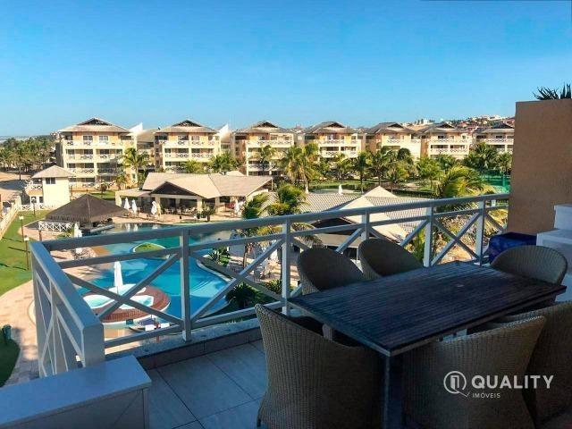 Apartamento duplex com 4 quartos à venda, 151 m² por R$ 2.000.000 Porto das Dunas - Aquira - Foto 4