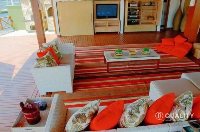 Casa na Lagoa do Uruaú com 6 suítes à venda, por R$ 5.800.000 Porteira fechada- Beberibe - Foto 9