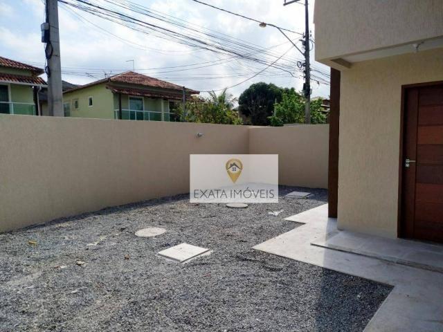 Casas duplex 03 quartos, independentes, recreio/costazul, rio das ostras. - Foto 3