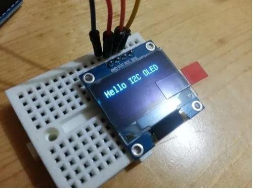 COD-AM48 Display Oled 128x64 Gráfico 0.96 I2c Serial Azul Arduino Esp Pic Robotica - Foto 3