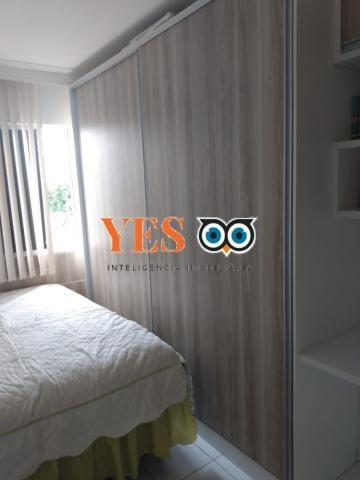 Apartamento residencial para venda, feira de santana, 2 dormitórios, 1 sala, 1 vaga. - Foto 2