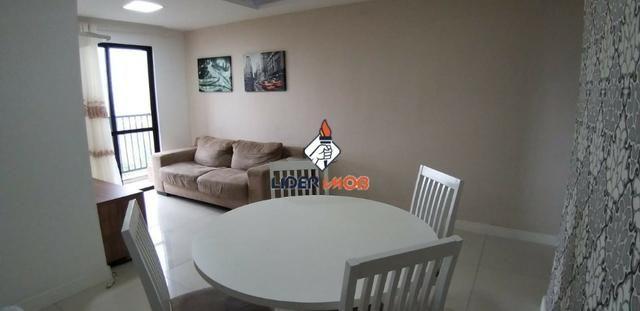 Apartamento 3/4 Mobiliado para Aluguel no Condomínio Vila das Flores - Proximo do Centro - Foto 2