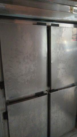 Geladeira de inox 4 portas - Foto 2